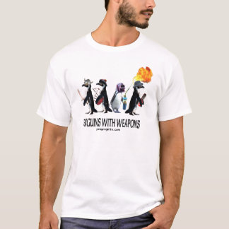 pinguïnen met wapens t shirt