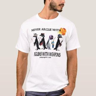 Pinguïnen met wapensT-shirt T Shirt