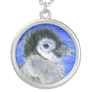 Pinguïnen Zilver Vergulden Ketting