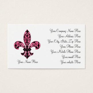 Pink van Fleur Visitekaartjes 2 van DE lis
