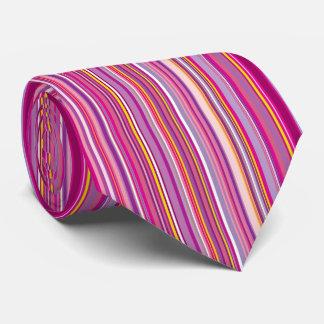 Pinks en Purples in de Verticale Stropdas van