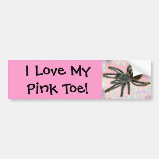 pinktoe bumpersticker