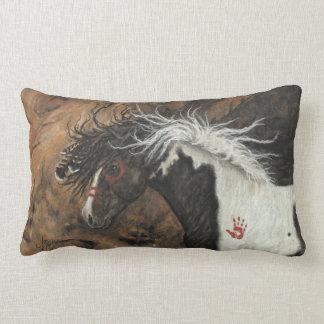 Pinto van de hengst Paard door BiHrLe Pillow Lumbar Kussen