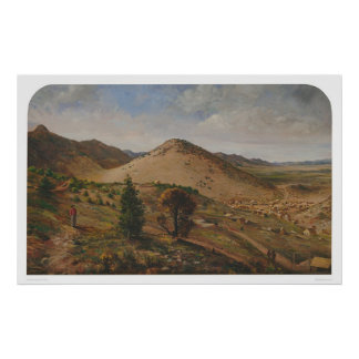 Pioche, de Provincie van Lincoln, Nevada (1186) Poster