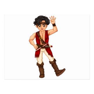 Piraat Briefkaart
