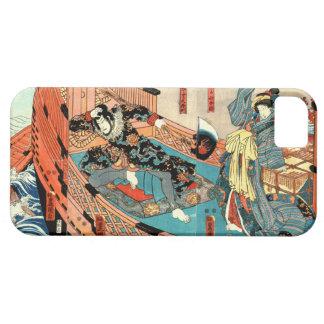 Piraat Handelaar en Meisje 1848 iPhone 5 Hoesjes