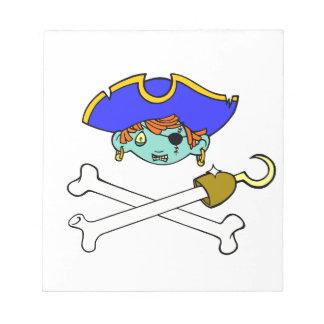 piraat notitieblokken