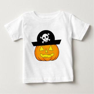piraat pompoen baby t shirts