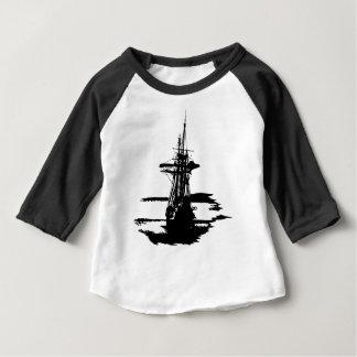 piraat schip baby t shirts