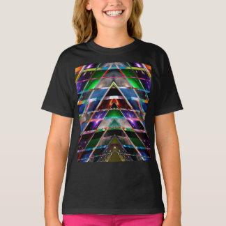PIRAMIDE - geniet van helend het Spectrum van de T Shirt