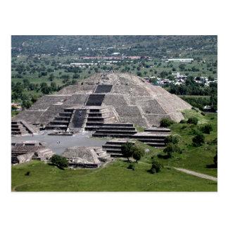 Piramide van de Maan, Teotihuacan, Mexico Briefkaart