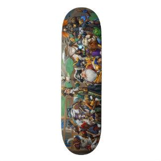 Pirate101 het Rooster van Skull Island Skateboard Deck
