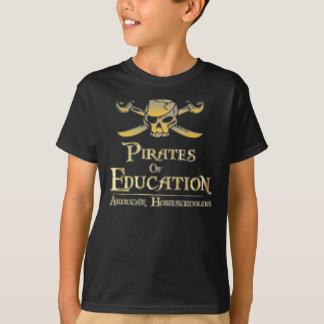 Piraten van Onderwijs T Shirt
