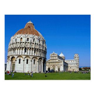 Pisa, Italië Briefkaart