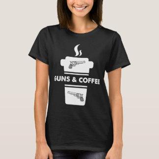 Pistolen en koffie t shirt