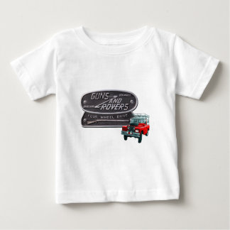 Pistolen en Zwervers Rood Rover Baby T Shirts