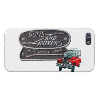 Pistolen en Zwervers Rood Rover iPhone 5 Covers