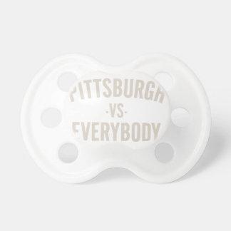 Pittsburgh versus iedereen fopspeen
