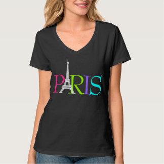 PixDezines Parijs, de doopvont van Eiffel T Shirt