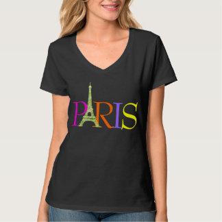 PixDezines Parijs, faux schittert de toren van T Shirt