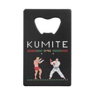 Pixel Kumite Creditkaart Flessenopener