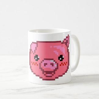 Pixel-kunst Piggy Koffiemok