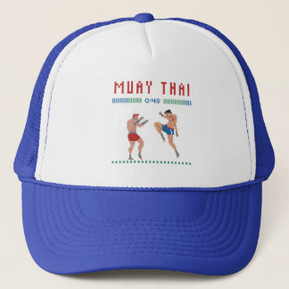 Pixel Muay Thai Trucker Pet