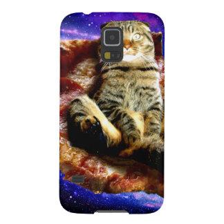 pizza kat - gekke kat - katten in ruimte galaxy s5 hoesje