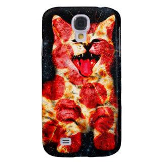 pizza kat - kat - pussycat galaxy s4 hoesje