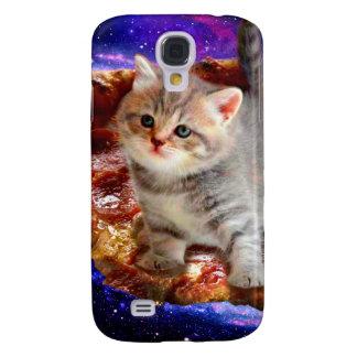 pizza kat - leuke katten - kat - katjes galaxy s4 hoesje
