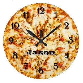 Pizza op tijd Klaar te gaan Grote Klok
