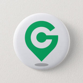 Plaats? Geocaching! Ronde Button 5,7 Cm