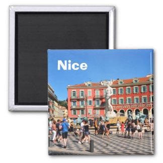 Plaats Massena in Nice, Frankrijk Magneet