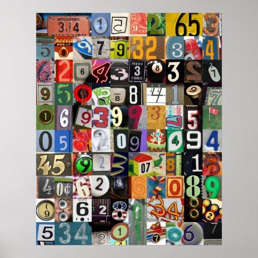 Plaatsen van Pi- Poster
