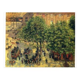 Place du Theatre-Francais, de Lente Camille Briefkaart