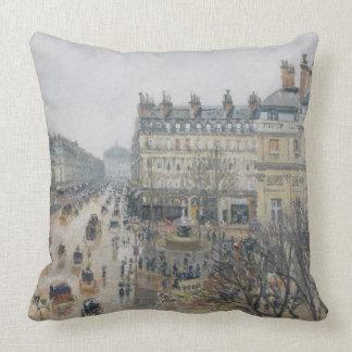 Place du Theatre Francais, Parijs: Regen, 1898 Sierkussen