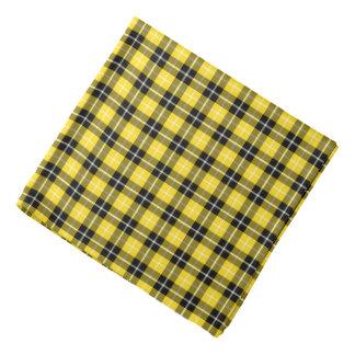 Plaid van het Geruite Schotse wollen stof van Bandana