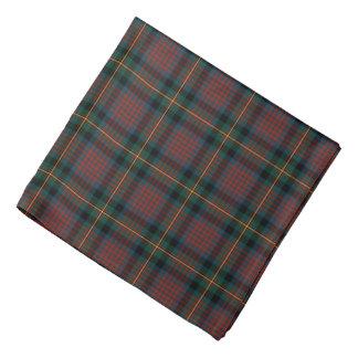 Plaid van het Geruite Schotse wollen stof van de Bandana