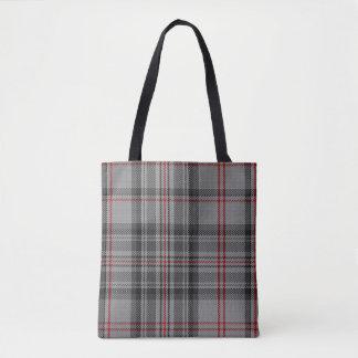 Plaid van het Geruite Schotse wollen stof van Draagtas