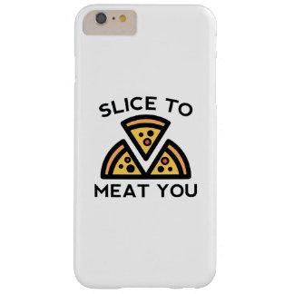 Plak aan Vlees u Barely There iPhone 6 Plus Hoesje