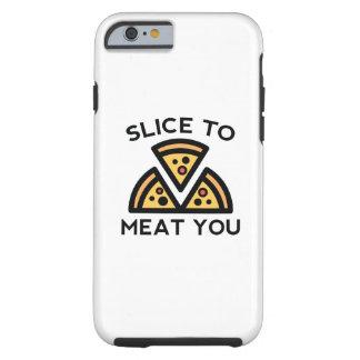 Plak aan Vlees u Tough iPhone 6 Hoesje