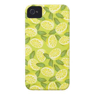 Plakken en bladeren van de Citroen van de zomer de iPhone 4 Hoesje