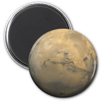 Planeet Mars Magneet
