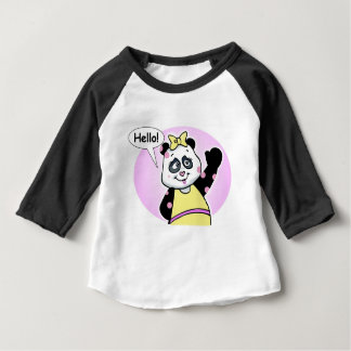 Planeet Pookie Lookie- HELLO Baby T Shirts
