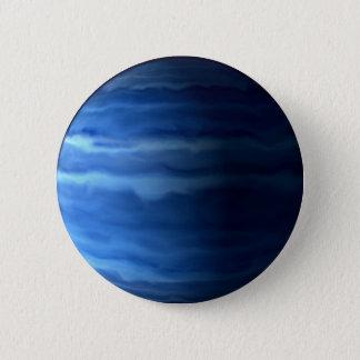 PLANEET URANUS v.2 (zonnestelsel) ~ Ronde Button 5,7 Cm