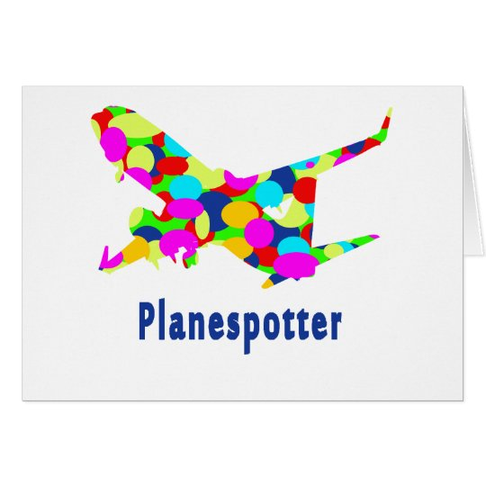 Planespotting Briefkaarten 0