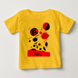 planeten 01 baby t shirts