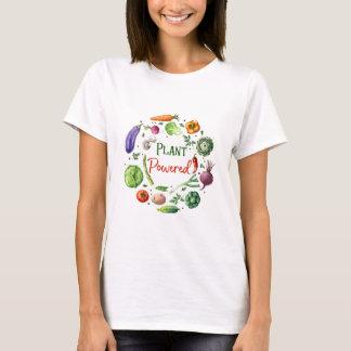Plant-aangedreven Design T Shirt