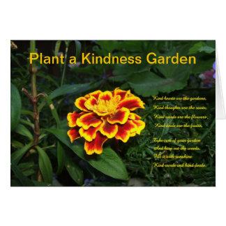 Plant een Kaart van de Tuin van de Vriendelijkheid