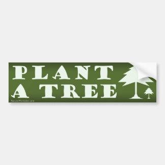 Plant een Sticker van de Bumper van de Boom